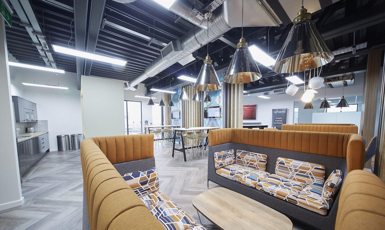 Integra's new office building is a showcase for the quality of design, build and materials the company offers to its growing client base and features facilities that are also available to the company's customers and suppliers.