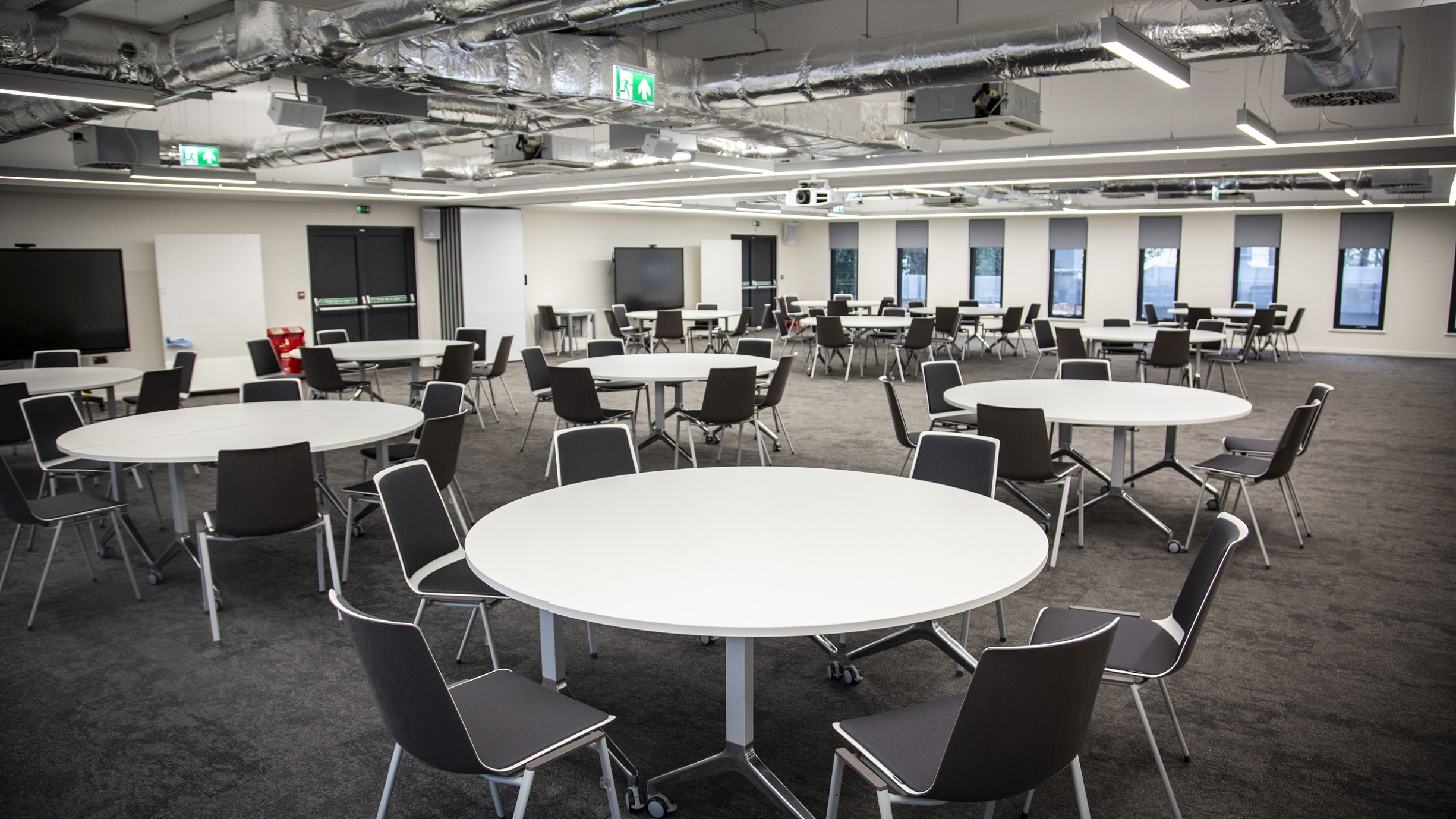 The new Severn Trent Academy houses an extensive suite of stylish, modern conference facilities.