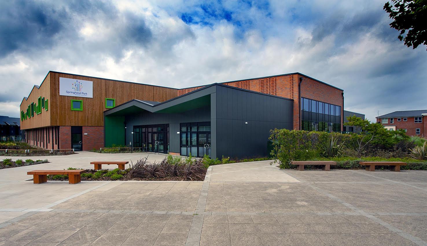 The Springhead Park Primary School, in Northfleet, Kent