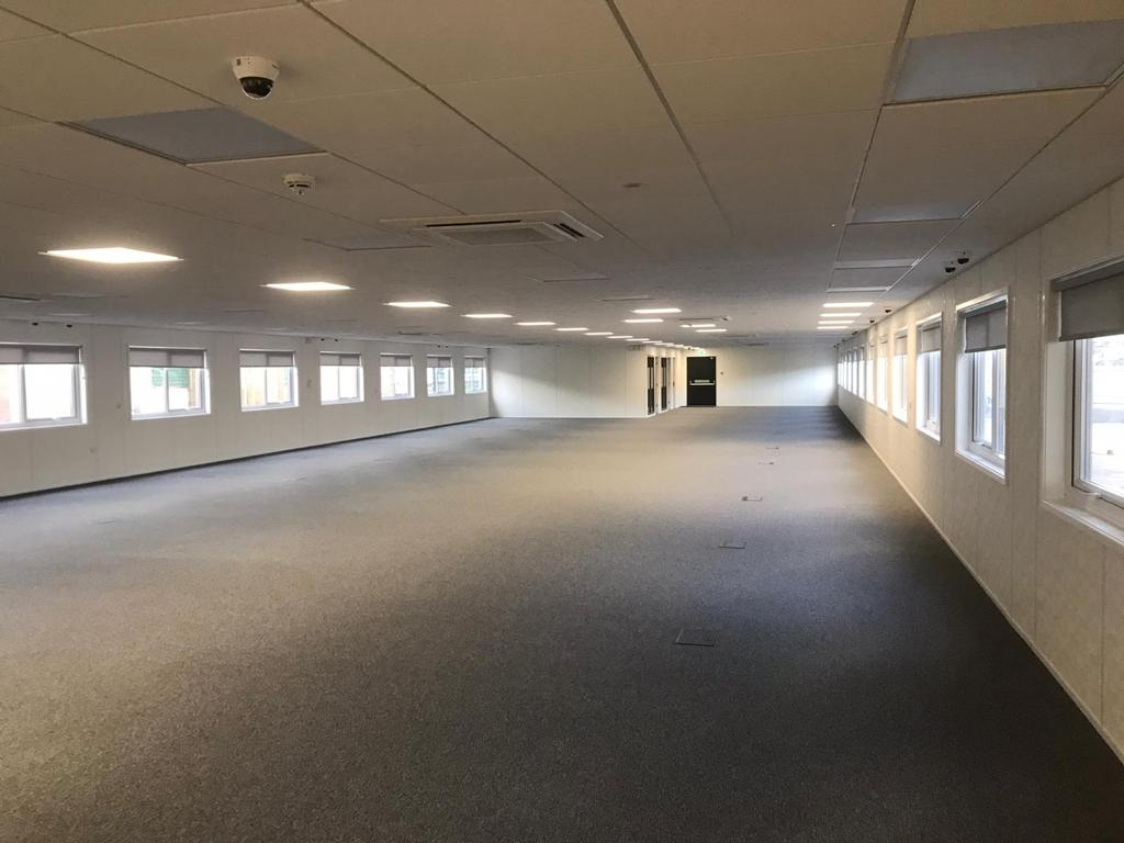 The new Jobcentre in Perry Barr, Birmingham, features large open-plan office areas