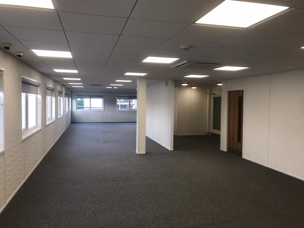 The new Jobcentre in Perry Barr, Birmingham, has modern, spacious interiors