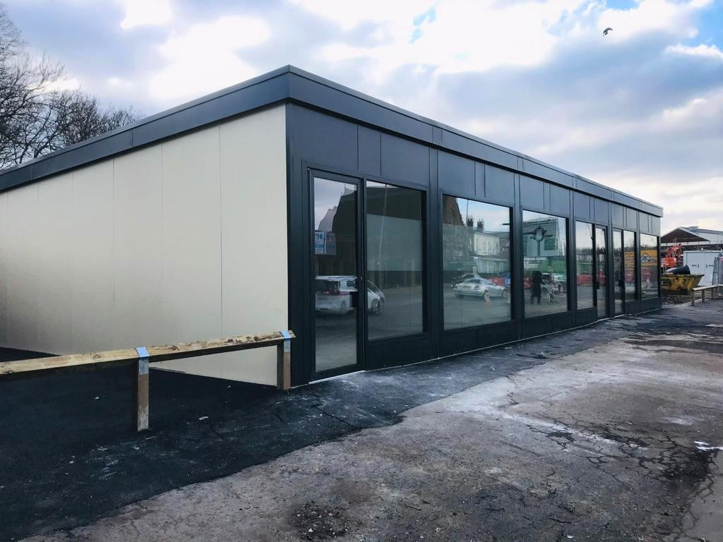 Integra Buildings has also delivered three new retail units for the Perry Barr community